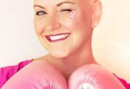 martial arts, kickboxing battle with breast cancer