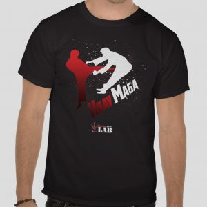 martial arts t shirt design - krav maga