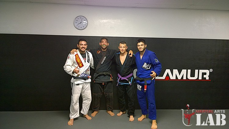 Training with Marcos & Satoshi De Souza at Black House Redondo Beach