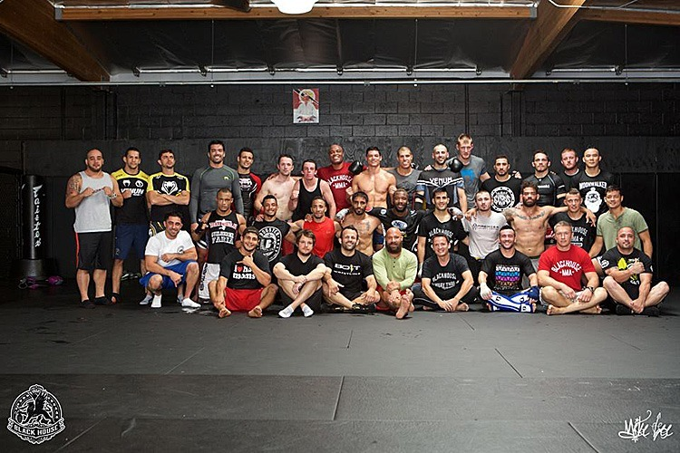 After Last Sparring Class at Black House