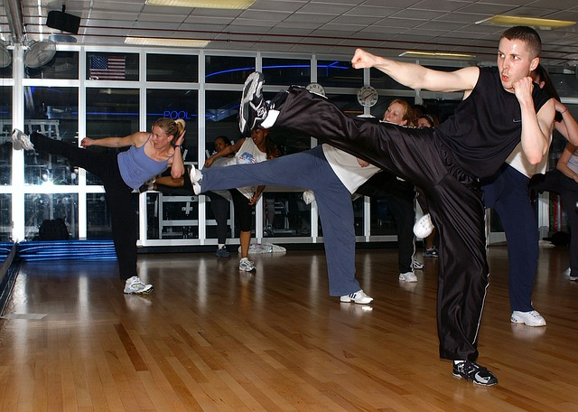 Martial arts helps in strengthening and lose weight